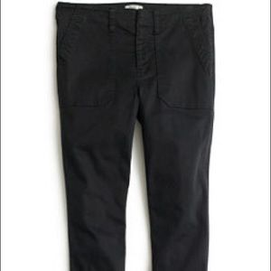 Gap Black Skinny Stretch Cargo Pant